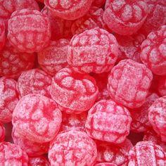 Les bonbons à la framboise