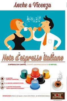 Note D'Espresso - #Adv 2014 Advertising Campaign, Ads, Espresso, Note, Creative, Movie Posters, Espresso Coffee, Film Poster, Billboard