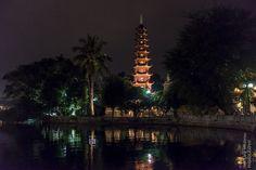 Tran-Quoc-Pagode, Hanoi. eine der ältesten Pagoden in ganz Vietnam (6. Jahrhundert).