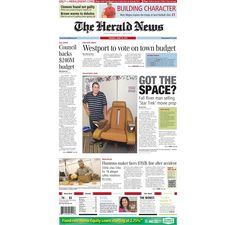 #FallRiver #HeraldNews front page for Tuesday, June 19, 2012.
