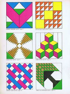 Vintage 70s PATCHWORK TECHNIQUES AND PATTERNS  TRADITIONAL PATCH WORK PATTERNS    Full-Size Cut-Outs and Instruction for 12 Quilts    Carol Belanger Grafton -- Copyright 1974    ISBN 0-486-23015-5