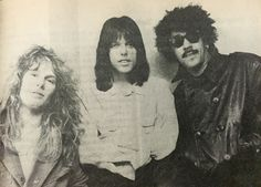 John Sykes, Scott Gorham, Phil Lynott