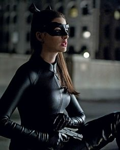 """Anne Hathaway as Cat Woman in """"The Dark Knight Rises"""""""