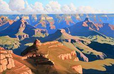 Blue Rain Gallery in Santa Fe New Mexico has Doug West original works. Western Landscape, Landscape Art, Landscape Paintings, Landscapes, Mountain Landscape, Southwestern Art, Desert Art, New Mexican, Blue Rain