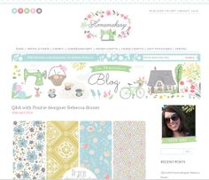 Interview on The Homemakery Blog with Rebecca Stoner http://www.thehomemakery.co.uk/blog/qa-prairie-designer-rebecca-stoner/