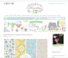 Interview on The Homemakery Blog with Rebecca Stoner http://www.thehomemakery.co.uk/blog/qa-prairie-designer-rebecca-stoner/