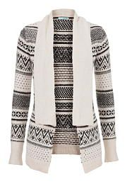 patterned sweater with collar - maurices.com