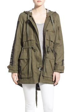 True Religion Military Parka Jacket