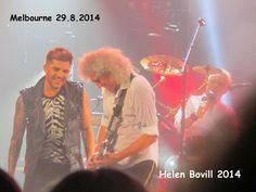 Wow! @QueenWillRock + @adamlambert were superb in Melbourne tonight! pic.twitter.com/b3GZ5Dn2h3