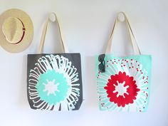 When shopping for your best gal-pal, don't forget to treat yourself too. This tote set is sure to get you and your bestie set for Summer. The protea design feat Gal Pal, Besties, Screen Printing, Totes, Reusable Tote Bags, Prints, Stuff To Buy, Screen Printing Press, Silk Screen Printing
