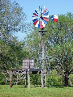 This Lone Star windmill sits motionless among a nearby herd of grazing longhorns in Austin County, Texas. Only In Texas, Old Windmills, Cities, Texas Flags, Loving Texas, Texas Pride, Lone Star State, Texas Hill Country, Country Life