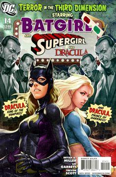 My first Batgirl comic. Come back Stephanie!