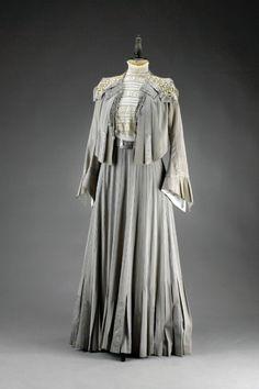 1902, Vienna, Austria - Silk dress