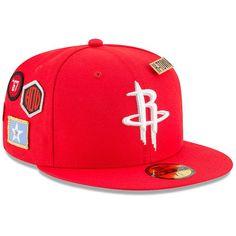 Houston Rockets New Era 2018 Draft 59FIFTY Fitted Hat Red  HoustonRockets da3f4c5bb3f