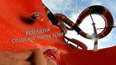 Bešeňová Coloured Water Slide (Matslide) 360° VR POV Onride Water Slides, Vr, Color, Colour, Colors