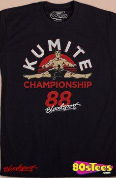 Kumite Championship Bloodsport T-Shirt ae9babe1f1f