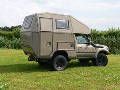 Alkovenkabinen Tacoma Camper Shell, 4x4 Camper Van, Truck Bed Camper, Pickup Camper, Camper Caravan, Off Road Camper, Truck Camping, Van Camping, Hilux Camper