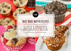 Great muffin recipes!