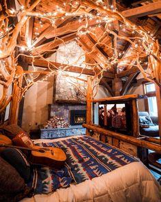 Cozy Cabin Room [1080x1350]