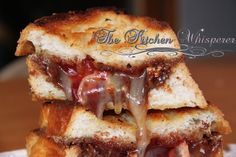 The Kitchen Whisperer Nutella Brie Raspberry Grilled Cheese