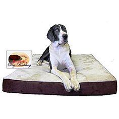 @Overstock - Let your best friend nap in comfort with this extra-large dog bed. Your furry friend is sure to enjoy the four-inch memory foam composition of this dog bed. The bed comes with a removable and washable zippered cover to easily clean up any messes.http://www.overstock.com/Pet-Supplies/Extra-large-Orthopedic-Memory-Foam-Dog-Bed-36-in.-x-52-in./4583622/product.html?CID=214117 $125.99