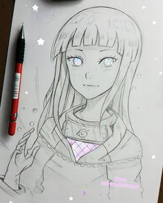 "Lärienne  on Instagram: ""Hinata from Naruto  there have been quite some requests from you regarding this anime so here you go  - Larienne.deviantart.com --"""