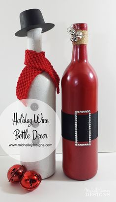 Wine Bottle Decorations Diy Diy Give Thanks Painted Wine Bottles Crafts  Wheat Fall