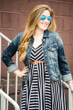 Walking in Memphis in High Heels: Trend Spin Linkup - Stripes