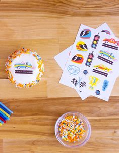 Race Car Go! Go! Go! Edible Decorating Stickers – Momo Party Nut Free, Dairy Free, Gluten Free, Race Car Party, Race Cars, Car Themed Parties, Modern Kids, Best Part Of Me, Baked Goods