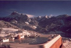 Hot tub rash info. http://www.folliculitistreatment.us/hot-tub-rash.html Hot tub in snow