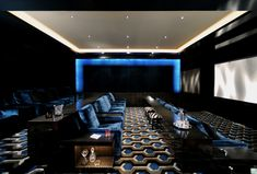 Dennis Gibbens Architects - Cinema room.....I will have one of these some day.