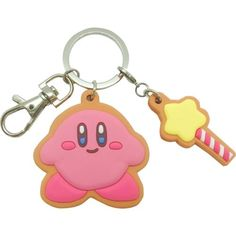 Official-Hoshi-no-Kirby-Cookie-Charm-Keychain-Nintendo-Limited-Japan-Cute