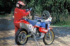 africa twin xrv nxr Offroad, Rallye Raid, Honda Africa Twin, Honda Motorcycles, Dirtbikes, Dominatrix, Motorbikes, Ww2, Old School