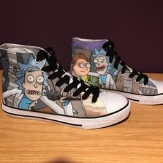 Hey, I found this really awesome Etsy listing at https://www.etsy.com/ru/listing/502604551/rick-and-morty-custom-shoes