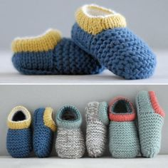 Crochet Baby Shoes Amazing Baby Slipper - Crochet Pattern - Photos above © Julia Adams PatternsThis crochet pattern is available from Etsy. Knit Baby Booties Pattern Free, Crochet Slipper Pattern, Crochet Baby Shoes, Crochet Baby Clothes, Crochet Patterns, Kids Slippers, Knitted Slippers, Crochet Baby Blanket Beginner, Baby Knitting