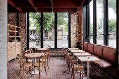 Cotta Cafe Melbourn : Bentwood cafe in fitzroy melbourne by ritz ghougassian
