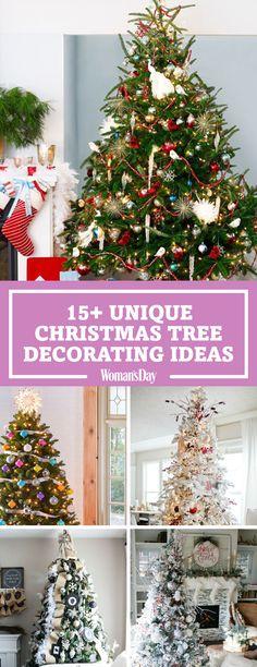 How to Put Ribbon Garland on a Christmas Tree   Ribbon garland ...