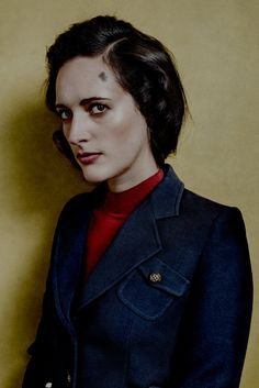 Phoebe Waller-Bridge portrayed by Billy Hells for New York Magazine