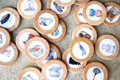 1 inch chore magnets www.thebuttercuphouse.etsy.com
