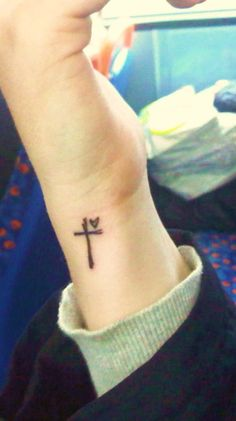 Cross---love this and love the placement