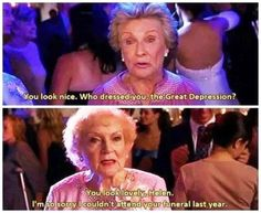Betty White and Cloris Leechman..from You Again! Great movie, so funny!