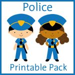 Police Learning Printables