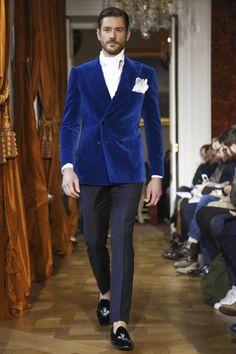 Cifonelli Menswear Fall Winter 2015 Paris - NOWFASHION