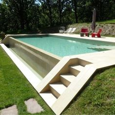 fountain wall Amazing Small Indoor Swimming Pool Design Ideas Browse swimming pool designs to get inspiration for your own backyard oasis TAG Modern pools Small swimmin. Pool Spa, Swimming Pool Landscaping, Small Swimming Pools, Swimming Pool Designs, Small Pools, Landscaping Ideas, Patio Ideas, Cheap Backyard Ideas, Swimming Tips