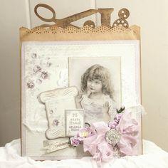 Anne's paper fun: Kort med Alma's Sewing Room {Pion Design}