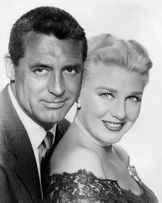 """Cary Grant, Ginger Rogers in """"Monkey Business"""" (1952) Director: Howard Hawks"""