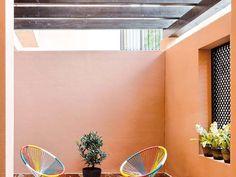 Melocotón, mandarina, mostaza, turquesa, limón, lima... Pintar en un color intenso las paredes del p... - Proporcionado por Hearst Magazines S.L.