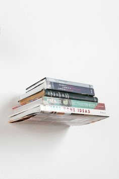 Invisible Book Shelf // Urban Outfitters // $14.00 or 2 for $20.00