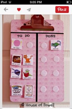 Many DIY ideas to create chore charts for children. Every parent knows how important it is to teach kids to do their chores at home. When kids do their chores, it will make our life much easier. Making a DIY chore chart for each kid's bedroom Kids And Parenting, Parenting Hacks, Chore Chart Kids, Chore Charts, Behavior Charts, Behavior Plans, Teaching Kids, Kids Learning, Charts For Kids