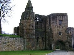 Dunfermline Castle, Scotland. Royal palace to many of the Scottish kings. Robert the Bruce is buried in the abbey. Robert is my 23th Great Grandfather